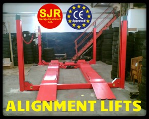 alignment car lift ramps