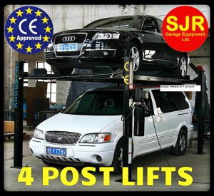 4 post vehicle lifts