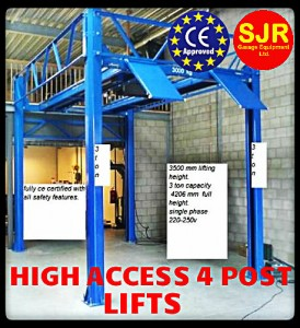 HIGH ACCESS 2 POST LIFTS